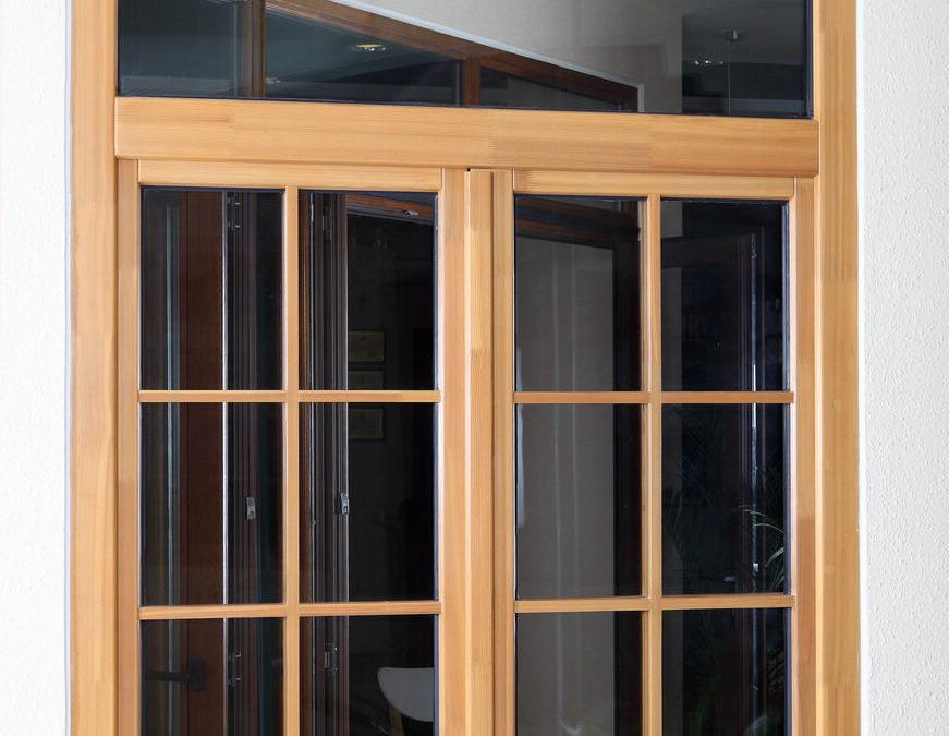 budowlane okna drewniane